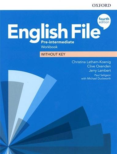 Papel English File Fourth Edition Pre-Intermediate Workbook