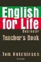 Papel English For Life Beginner Tb