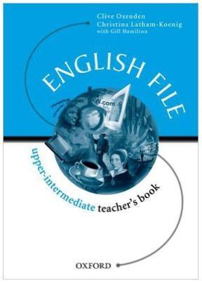 Papel English File Upper Interm Tch'S Bk