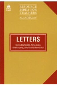 Papel Resource Books For Teachers Letters (N. Burbidge, P. Gray, S. Levy And M. Rinvol