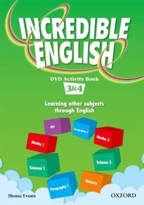 Papel Incredible English Dvd Activity Book 3&4