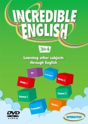 Papel Incredible English 3 & 4 Dvd