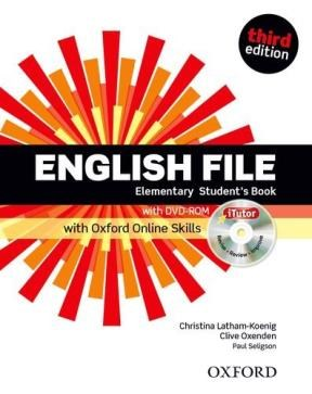 Papel English File Third Edition Elementary Student'S Book