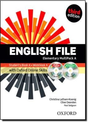 Papel English File Elementary Multipack A