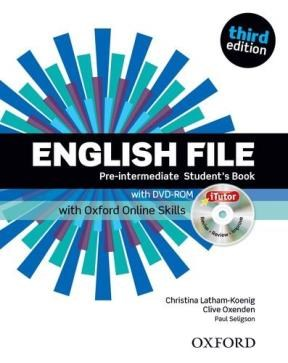 Papel English File Third Edition Pre-Intermediate Sb With  Itutor And Online Skillse