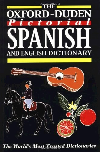 Papel Oxford Duden Pictorial Spanish/English