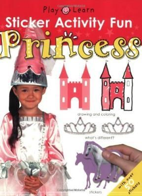 Papel Princess Sticker Activity Fun