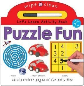 Papel Wipe Clean Activity Puzzle Fun