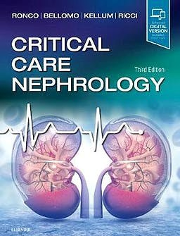 Papel+Digital Critical care nephrology Ed.3º