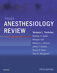 E-book Faust'S Anesthesiology Review E-Book