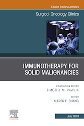 E-book Immunotherapy For Solid Malignancies, An Issue Of Surgical Oncology Clinics Of North America, Ebook