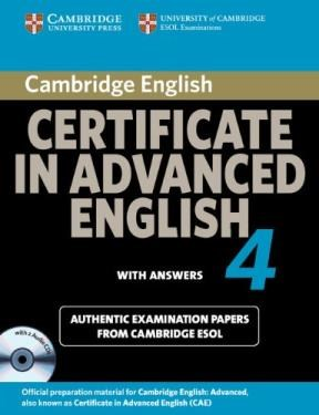Papel Cambridge Certificate In Advanced English 4 For Updated Exam Self-Study Pack (Student'S Book With An
