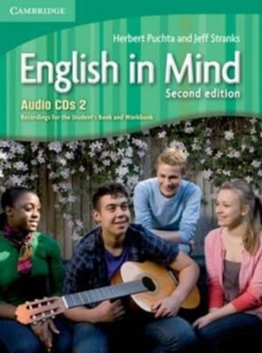 Papel English In Mind Second Edition Level 2 Audio Cds (3)