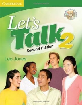 Papel Let'S Talk Student'S Book 2 With Self-Study Audio Cd (Let'S Talk (Cambridge))