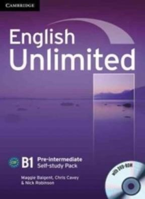 Papel English Unlimited B1 Pre-Intermediate Self-Study Pack (Workbook With Dvd-Rom)