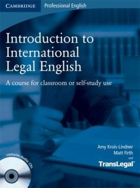 Papel Introduction To International Legal English St'S Book W/Audio Cd