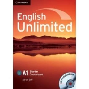 Papel English Unlimited A1 Starter Coursebook With E-Portfolio