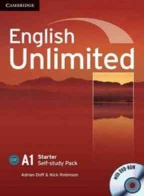 Papel English Unlimited A1 Starter Self-Study Pack (Workbook With Dvd-Rom)