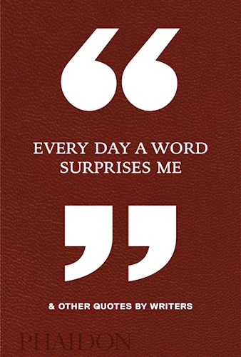 "Papel ""Every Day A Word Surprise Me"""