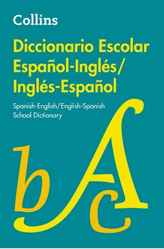 Papel Diccionario Escolar Español-Inglés/Inglés-Español