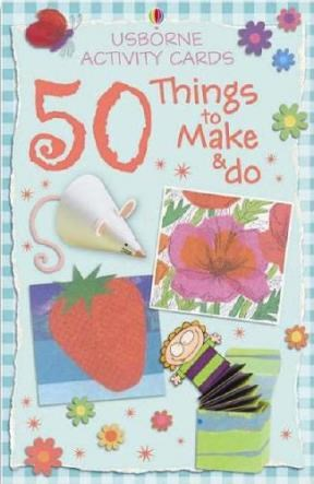 Papel 50 Things To Make And Do Cards