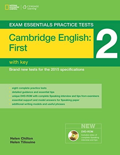 Papel Cambridge English: First (Fce) 2 - Exam Essentials Practice Tests With Key