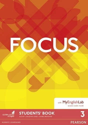 Papel Focus 3 Student'S Book With Myenglishlab Pack
