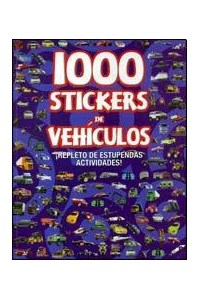 Papel 1000 Stickers Vehiculos
