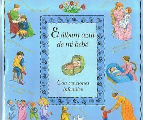 Papel El Album Azul De Mi Bebe