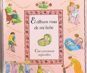 Papel El Album Rosa De Mi Bebe