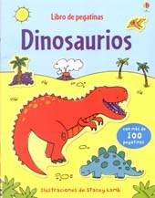 Papel Dinosaurios. Libro De Pegatinas