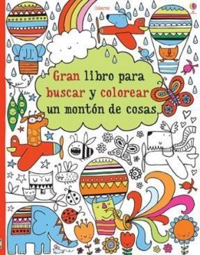 Papel Gran Libro Para Buscar Y Colorear Un Monton De Cosas