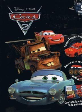 Papel CARS 2 CONSTRUYE Y JUEGA (MAS DE 50 STICKERS) (CARTONE)