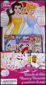 Papel Disney Princesas Estuche Gigante