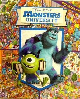 Papel Monsters University Busca Y Encuentra