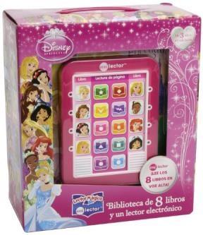 Papel Disney Princesas 8 Libros Y Un Lector Electronico