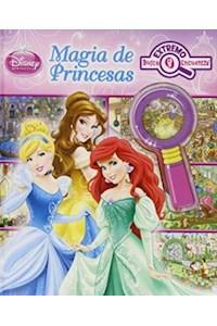 Papel Disney Princesas Magia Look&Find