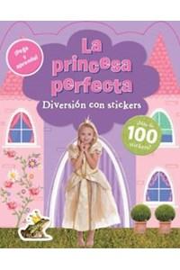 Papel Pega Y Aprende - La Princesa Perfecta