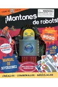 Papel ¡Montones De Robots! - Pack Creativo