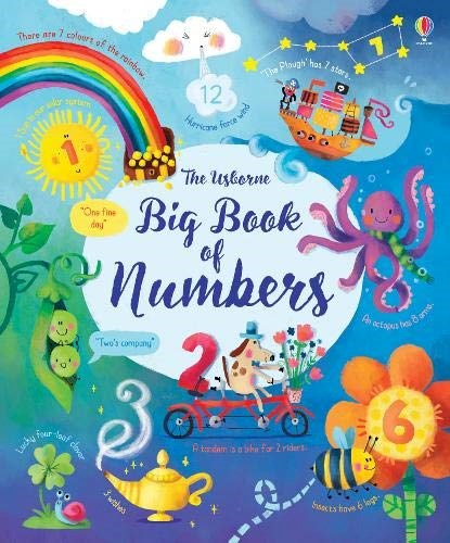 Papel The Usborne Big Book Of Numbers