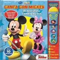 Papel Disney Mickey Canta Microfono Cambia Tu Voz