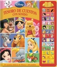 Papel Disney Tesoro De Ctos. Con Sonido Clasicos