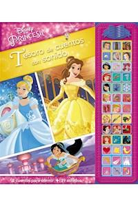 Papel Disney Princesa Tesoro De Cuentos Con Sonido (New)