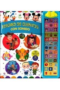 Papel Disney Tesoro De Ctos. Con Sonido Disney Baby