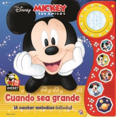 Papel Disney Cuando Sea Grande Mickey