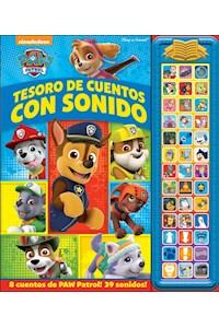 Papel Disney Tesoro De Ctos. Con Sonido Paw Patrol
