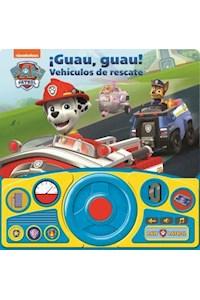Papel Paw Patrol ¡Guau, Guau! Vehículos De Rescate