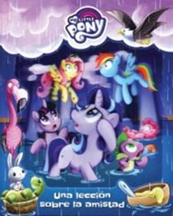 Libro My Little Pony : Una Leccion De Amistad
