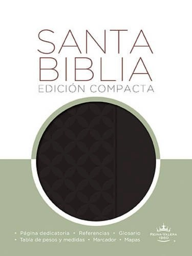 Libro Santa Biblia Edicion Compacta Color Negra Rvr 1960