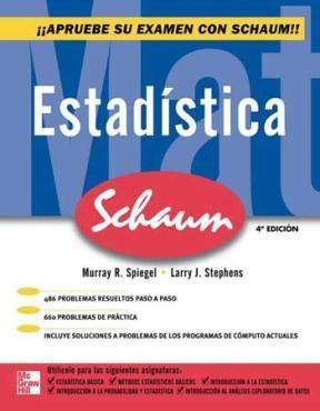 E-book Estadística Serie Schaum